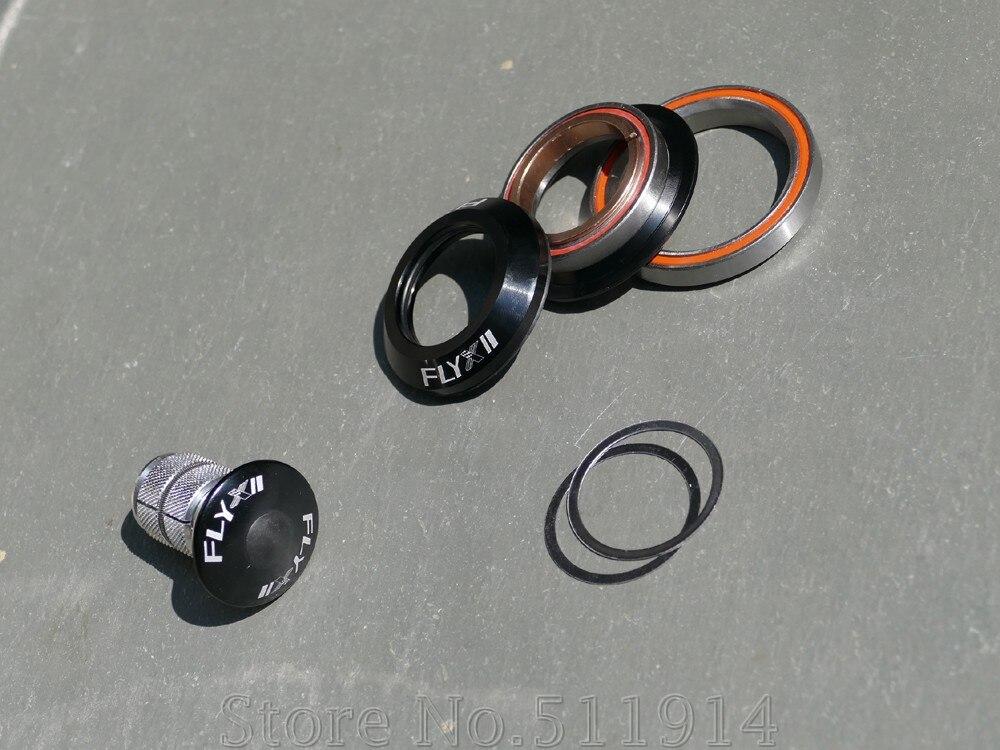 """2048' HS-1 (auriculares) totalmente integrados (cónicos) auriculares 1 1/2 """"tubo de cabeza reducido a 1-1/8"""" tubo de horquilla auriculares sin hilo"""
