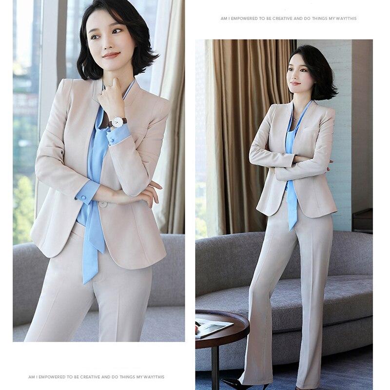Traje pequeño de moda para mujer, nuevo conjunto profesional para mujer, pantalones ajustados para mujer, traje ejecutivo de negocios, ropa de herramientas para primavera y otoño