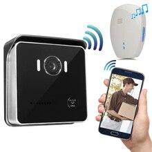 CUSAM WIFI Smart Video Doorbell Intercom Wireless Door Phone Bell 720P Camera IR Vision Motion Sensor Alarm Unlock Two Way Audio
