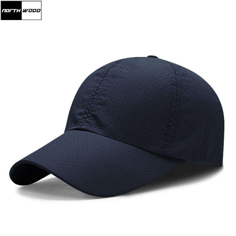 [NORTHWOOD] дышащие быстросохнущие летние бейсболки, мужские однотонные брендовые солнцезащитные шапки для женщин, мужские ультратонкие бейсбо...