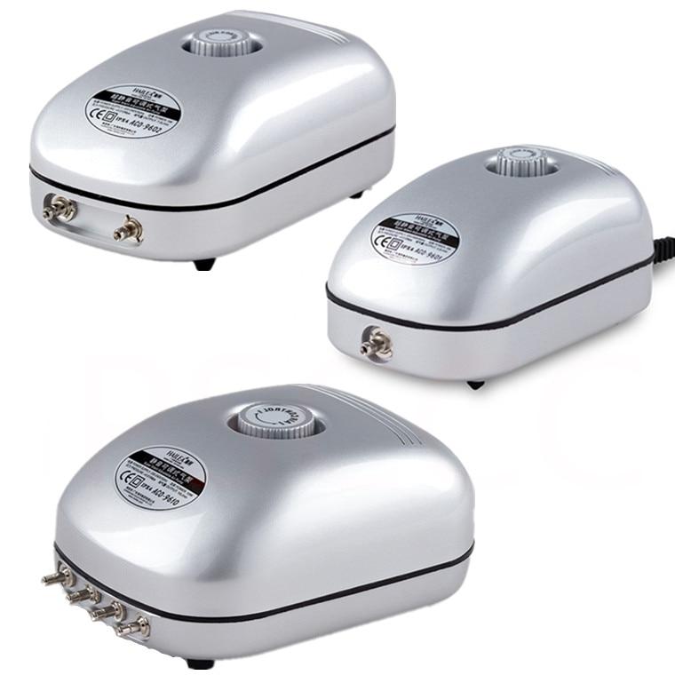 NEW Hailea ACO 96 Series High Quality 2W / 5W / 10W Adjustbale Aquarium Air Pump Fish Tank Air Flow Oxygen Air Pump 220V 50Hz
