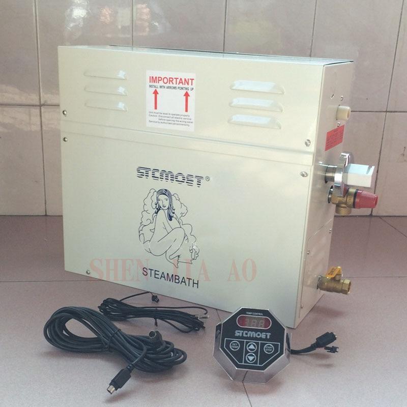 Generador de vapor para ducha 220 V/380 V 12KW/15KW/18KW máquina de vapor para el hogar Sauna SPA de baño máquina de vapor de Ducha