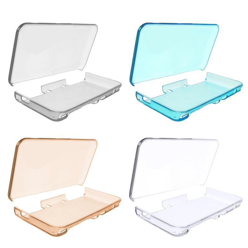 Jeebel naim nouveau 2DS XL LL étui de protection transparent nouveau 2DS XL étui de protection pour 4 couleurs étui rigide Funda nouveau 2DS XL étui