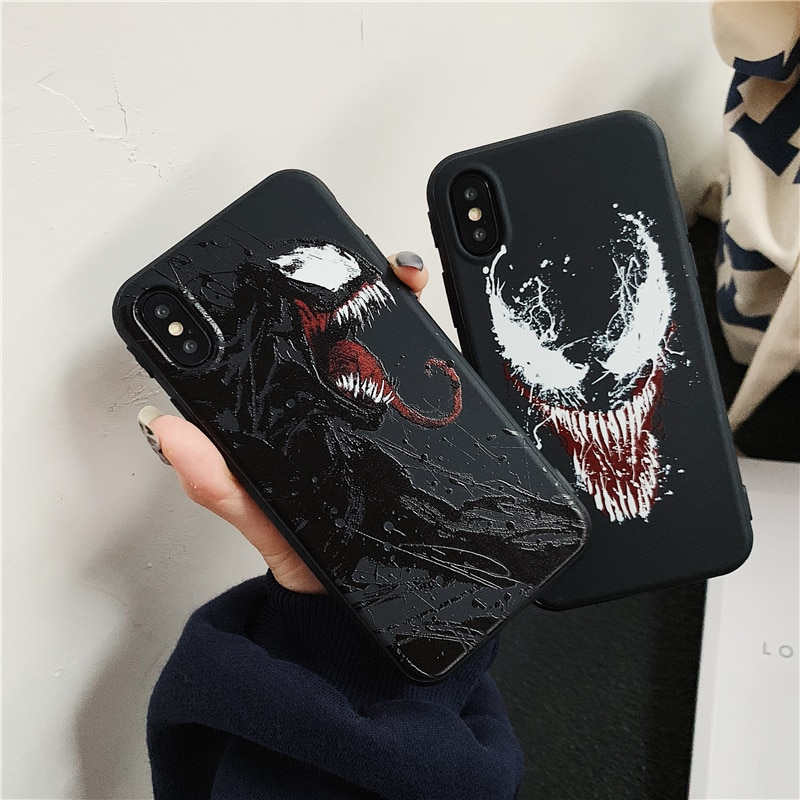Funda de silicona blanda para iphone 6 6s 7 8 plus X XR XS Max DC Comics funda para iphone 7