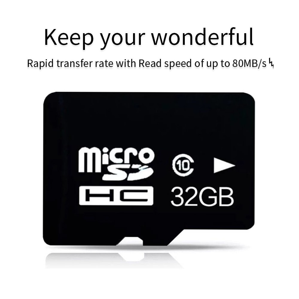 Tarjeta de memoria micro sd 32GB Class10 Mini SD con lector de tarjetas tf para SmartPhone Android