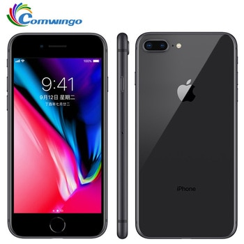 Original débloqué Apple iphone 8 / iphone 8 Plus 3GB RAM 64-256GB ROM Hexa Core iOS 12MP empreinte digitale LTE téléphone portable