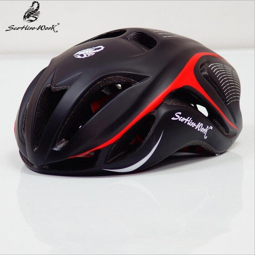 Casco de ciclismo ultraliviano eps moldeado integralmente, de 11 colores, para Casco de Bicicleta de carretera de montaña o deportes, para hombre y mujer