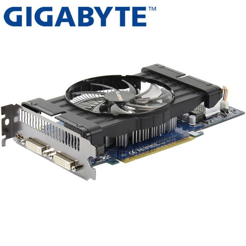 Gigabyte Graphics Card Original Gtx 550ti 1gb 192bit Gddr5 Video Cards For Nvidia Geforce Gtx 550 Ti Hdmi Dvi Used Gtx 650 750 Graphics Cards Aliexpress