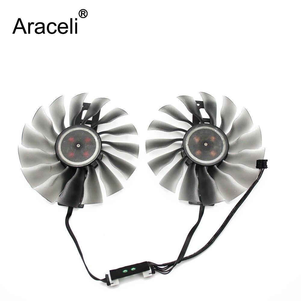 95MM GAA8S2U GTX1080TI/1070/980TI GPU ventilador refrigerador de tarjeta para MAXSUN GeForce GTX 1080 TI 1080 980 tarjetas gráficas como reemplazo