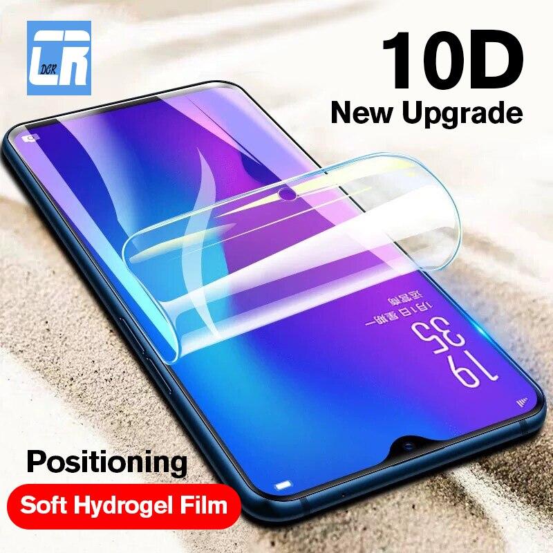 10D Borde de hidrogel de película para OPPO A3S A5 A83 A73 A1 A77 A7X Protector de pantalla para OPPO F5 F3 k1 R15X película no Vidrio Templado