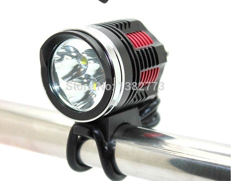5000LM 3 xCree XM-L2 4-Mode LED À Prova D Água Ciclismo MTB Bicicleta Lâmpada de luz Cabeça Bicicleta Montar Luz Frontal