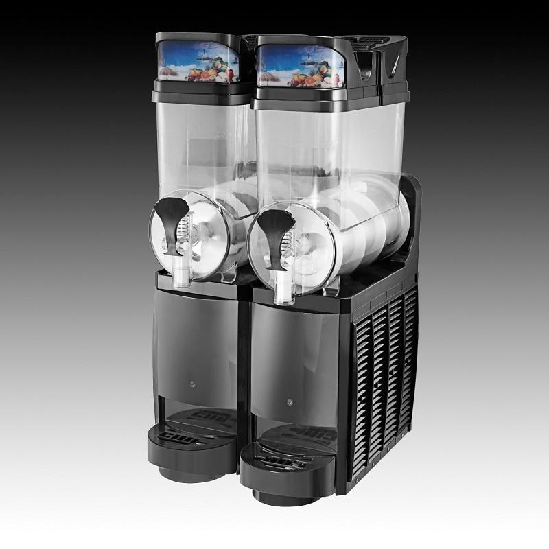 Máquina de bebidas congeladas margarita granizado aguanieve congelador aguanieve industrial slush puppy piezas de la máquina de granizado comercial bebida congelada
