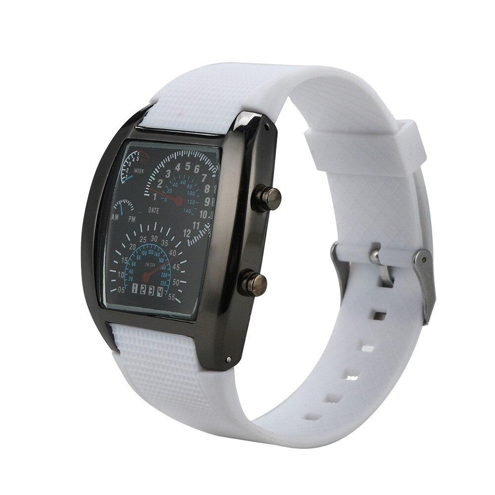 Relógio de pulso eletrônico de silicone relógio de pulso eletrônico hodinky digital relogio a4