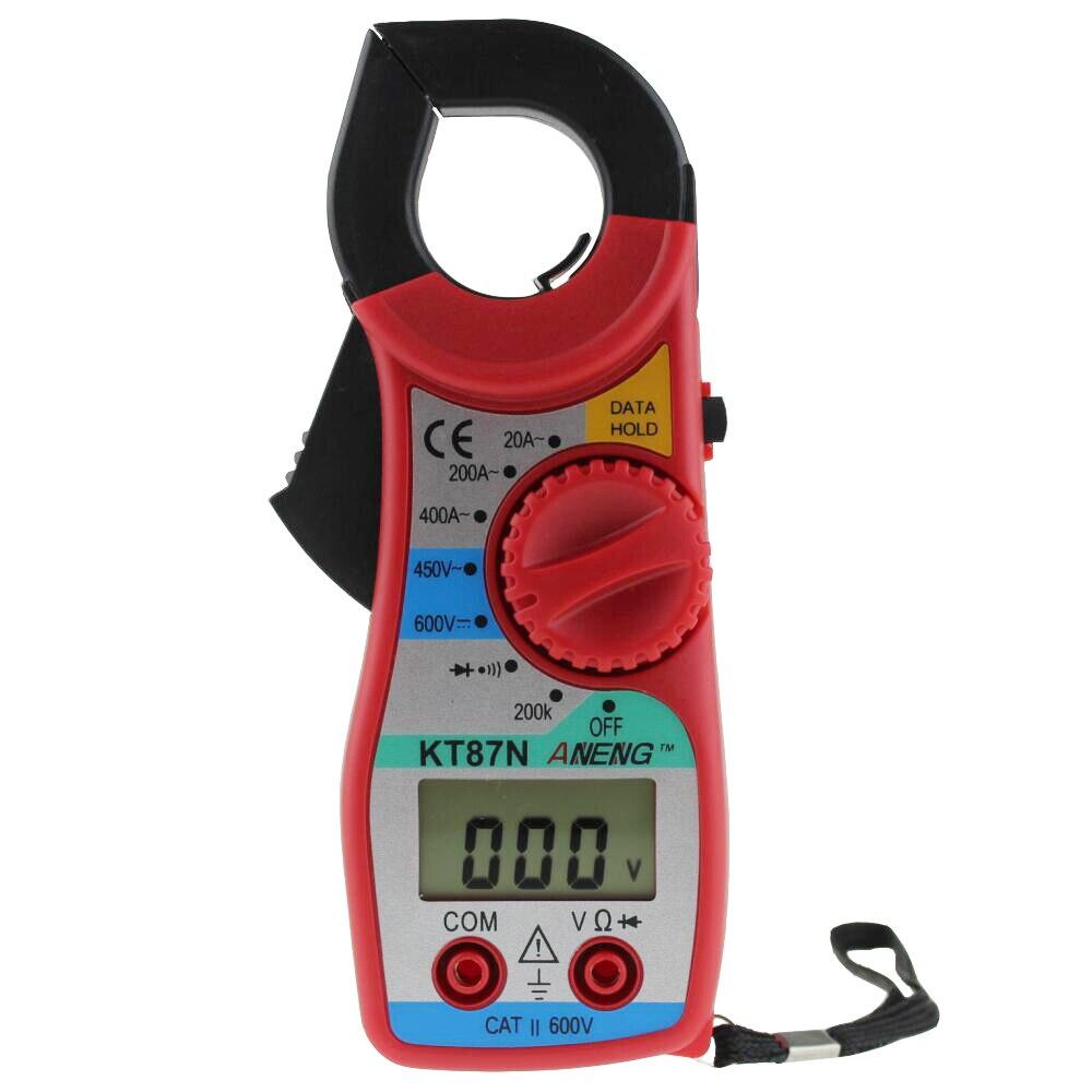 Gran oferta multímetro Digital KT87N amperimétrico pinza de corriente AC/CC