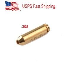 États-unis. 308 et 7mm-08 Laser cartouche alésage/Laser alésage viseur/boreveneur comprend 3 piles pour la chasse