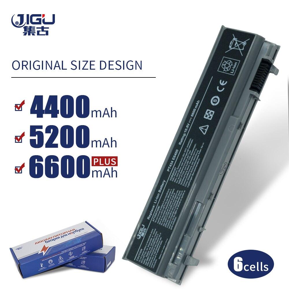 JIGU batería del ordenador portátil para Dell para la latitud E6400 M2400 E6410 E6510 E6500 M4400 M4500 M6400 M6500 1M215 312-0215, 312-0748 6 celdas