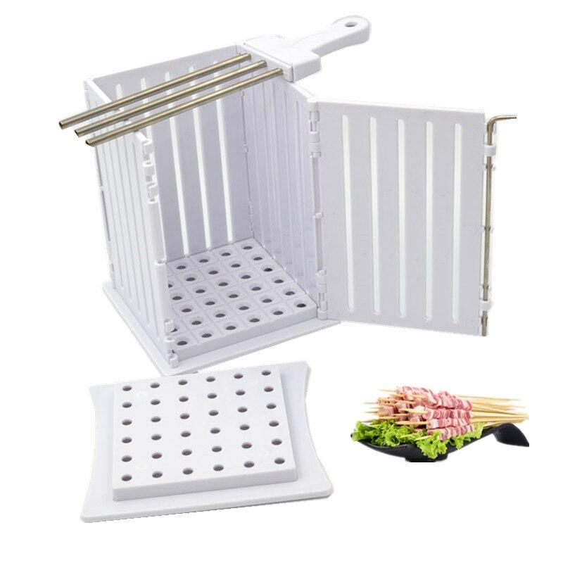 Шашлык для барбекю, приготовления мяса, брошетка, машина для барбекю, гриль, аксессуары, набор инструментов, товары для дома и сада