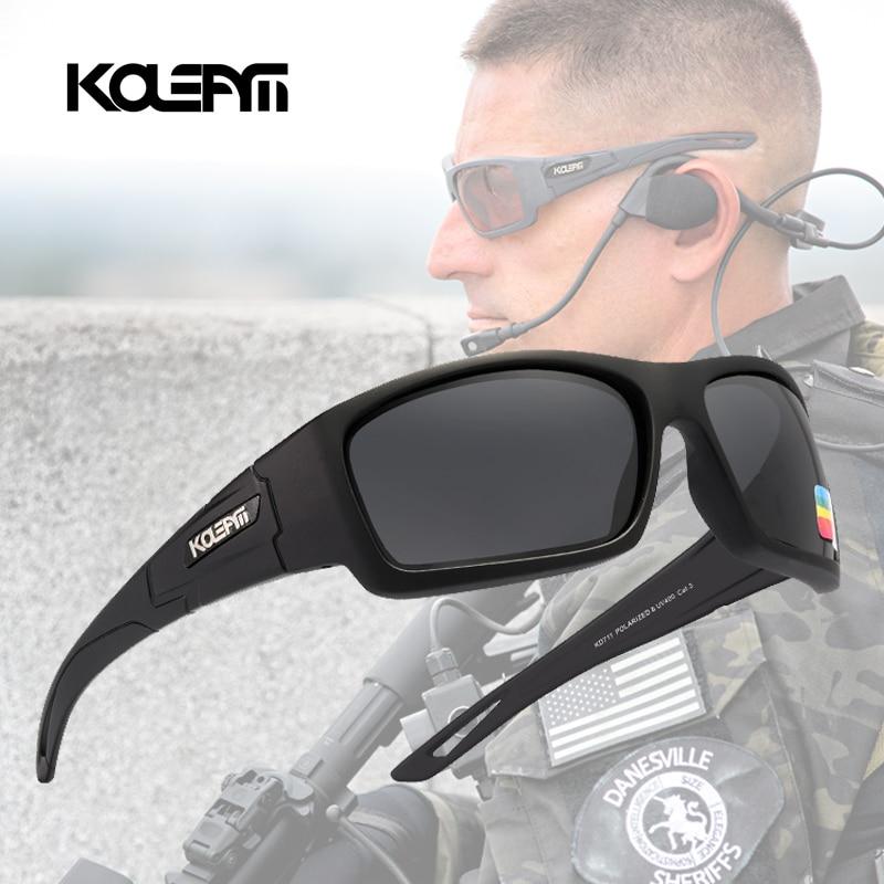Kdeam óculos de sol polarizado, óculos de sol masculino com lente polarizada e design clássico kd711