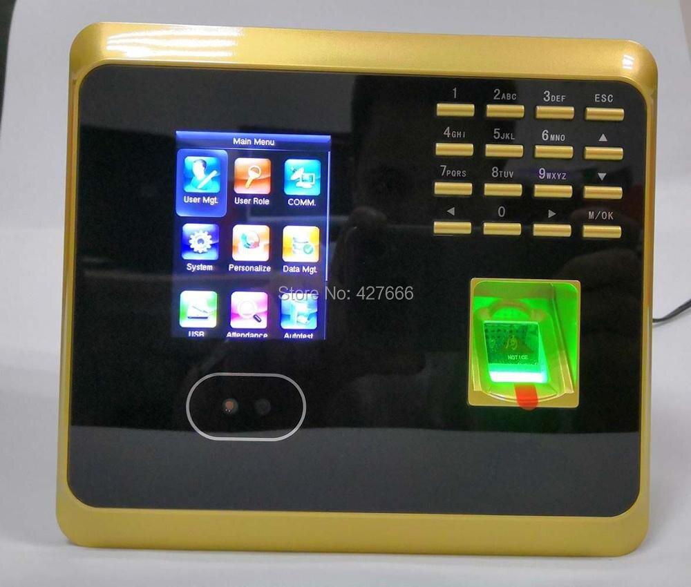 WiFi UF100 sistema de asistencia de huellas dactilares y reloj de huellas dactilares con Software gratuito dispositivo de asistencia al empleado