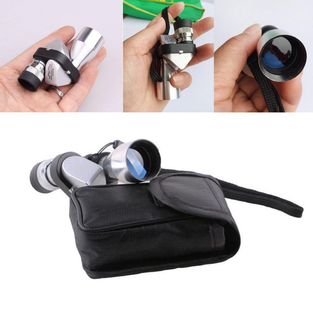 Diseño moderno al aire libre Mini bolsillo 8x20 HD esquina telescopio óptico Monocular ocular nueva llegada