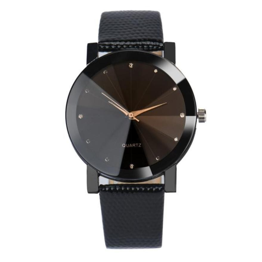 Women Watch Luxury Brand Casual Stainless Steel Quartz Clock For Leather Strap Wrist Watches Drop Shipping #D