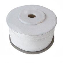 Rubans en soie 100% Pure pour la broderie dart   Taffetas mince Double Face blanc cassé de 7mm (1/4 pouces) * 100m (109 yard)