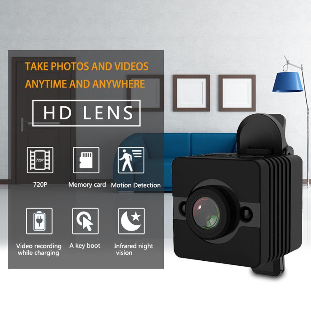 HD мини-автомобиль, камера ночного видения, видеокамера, Спортивная DV SQ12 мини Автомобильная камера, DVR, ночное видение, видеокамера