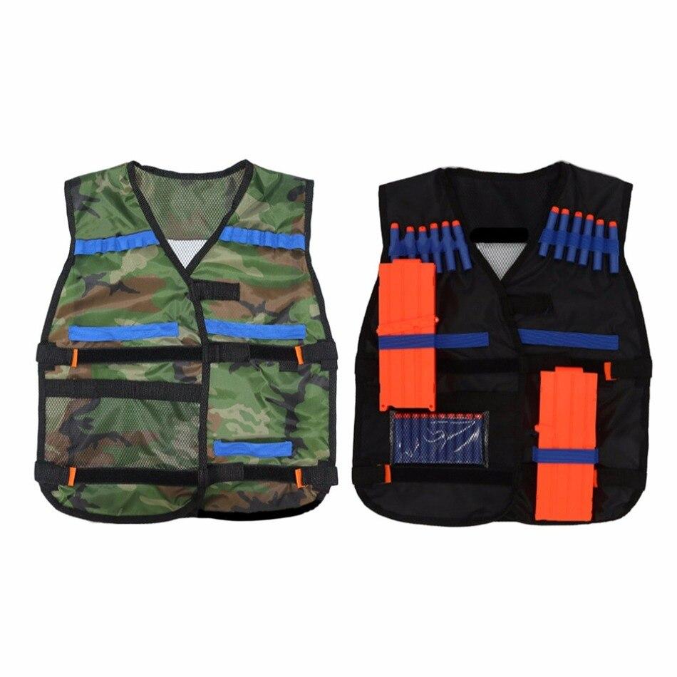 54*47cm for child New colete tatico Outdoor Tactical Adjustable Vest Kit For Nerf N-strike Elite Games Hunting vest Top Quality