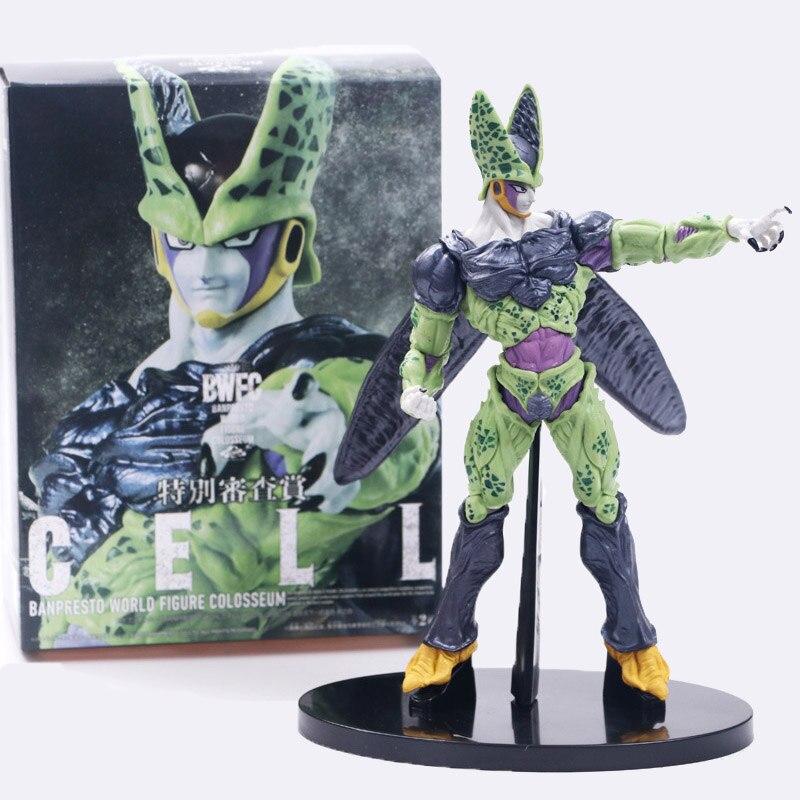 Bola de Dragón figura Cell de Dragon Ball figura de acción figuras del mundo Coliseo juguetes estatuilla colección modelo de juguete de PVC 20cm