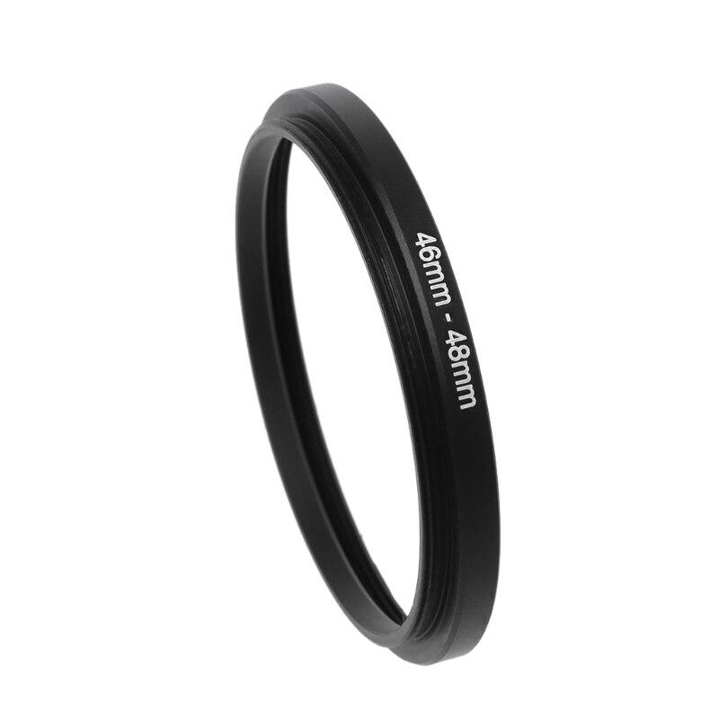 46mm a 48mm Metal Step Up filtro lente anillo adaptador Cámara herramienta Accesorios