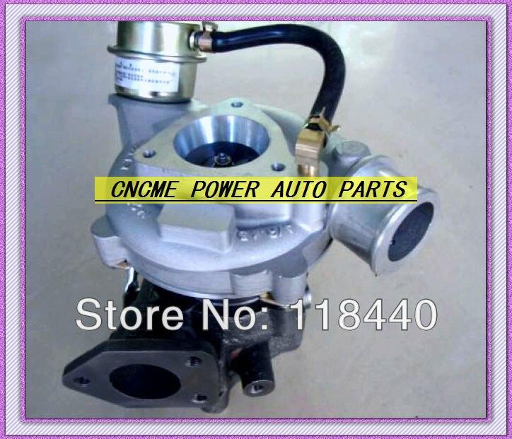 Mejor TURBO GT1749S 732340-5001 S 732340-0001 28200-4A350 28200-4A361 turbocompresor para Hyundai Porter motor 2003 D4BC 2.5L 120HP