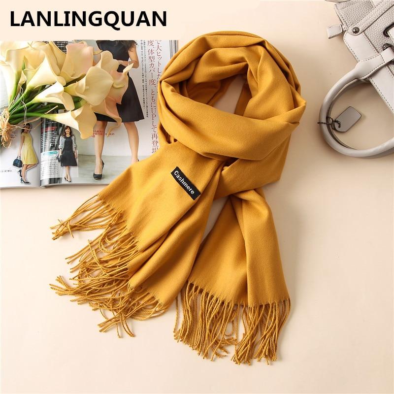 Desigual women Scarf Luxury Brand Cashmere Bandana 2018 Fashion Warm scarves Scarfs Autumn Winter Shawl Cashmere Pashmina Hijab