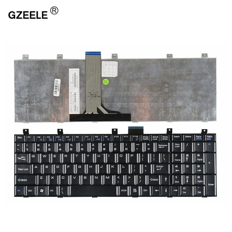 GZEELE CLAVIER DORDINATEUR PORTABLE US Pour MSI GX610 GX630 CR610X GX640 GX660R GX701 GX710 ER710 CR720 GX720 GX730 GX740 NOIR ANGLAIS