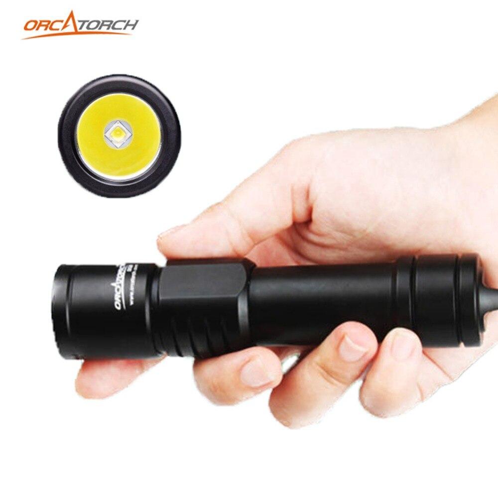 ORCATORCH светильник для дайвинга, светильник для дайвинга, подводная лодка, 1000ЛМ, светильник для дайвинга, 150 м, подводный светильник для дайвинга