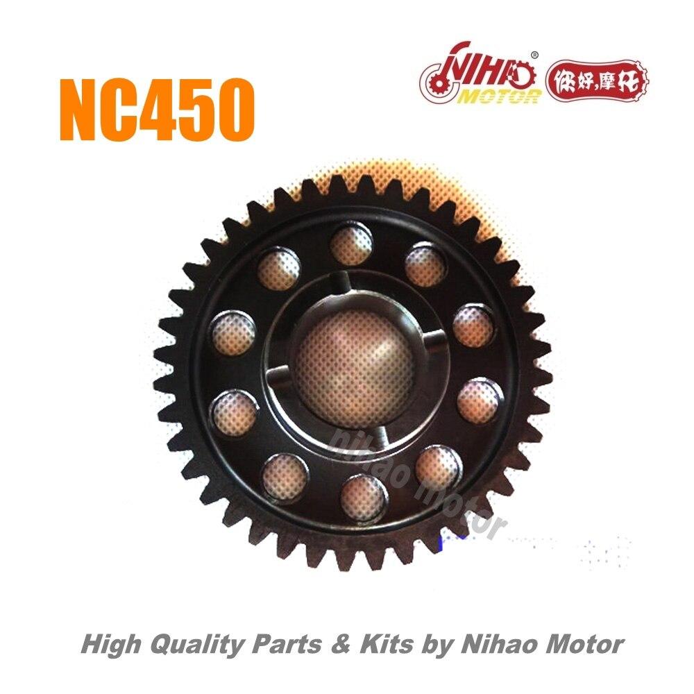 94 NC450 детали пусковая шестерня (nr.2) ZONGSHEN двигатель NC RX4 ZS194MQ (Nihao мотор) KAYO Motoland BSE VENTO Asiawing Xmoto