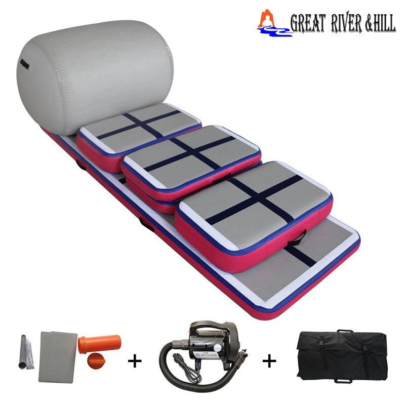 La mejor edición de aire inflable para el hogar de kits de entrenamiento en casa con la gran marca de la colina del río