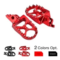 footpeg footrest foot pegs rests for honda cr125r cr250r crf150r crf250r crf450r crf250rx crf450rx crf250x crf450x crf250lm