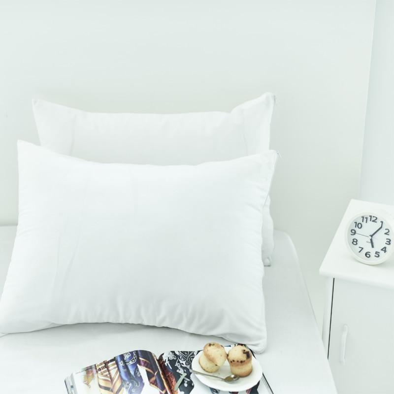 Набор из 2 50х70см гладкая поверхность водонепроницаемый протектор подушки на молнии аллергия наволочки гипоаллергенные дышащие наволочки