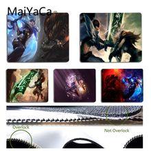 MaiYaCa kişiselleştirilmiş serin moda Riven vs Yasuo LOL benzersiz masaüstü Pad oyun Mousepad boyutu 18x22cm 25x29cm küçük Mousepad