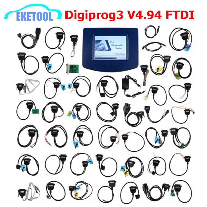 EU Stock Digiprog V4.94 OBD2 Mileage Correction Multi-Language Universal Multi-Cars Digiprog 3 Digiprog3 Correction Tool