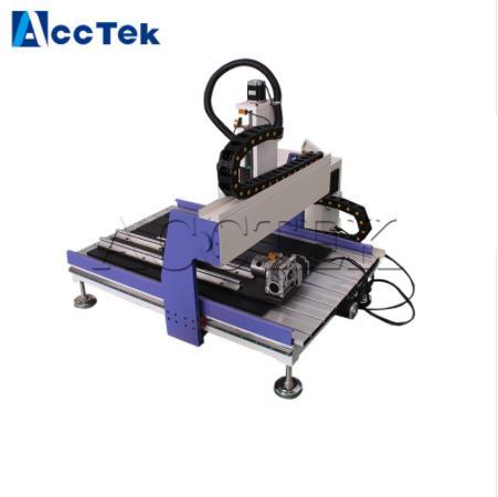 Maquina enrutadora cnc para cuerpo de hierro fundido de aluminio ACCTEK AKG6090