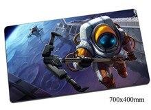 Nautilus tapis de souris 700x400mm tapis de souris de jeu gear lol gamer tapis de souris Titan des profondeurs jeu ordinateur souris tapis de jeu