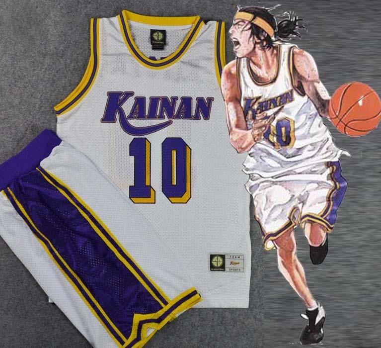 Anime Snap Funk Kainan escuela n. ° 10 NOBUNGA KIYOTA Cosplay cesta equipo Jersey + Pantalones ropa deportiva traje cesta uniforme