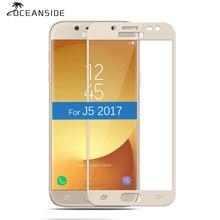 2 stuks Voor Samsung Galaxy J5 Pro 2017 Volledige Cover Gehard Glas Screen Protector Beschermende Film op J5Pro J 5 530F Sm-J530Y