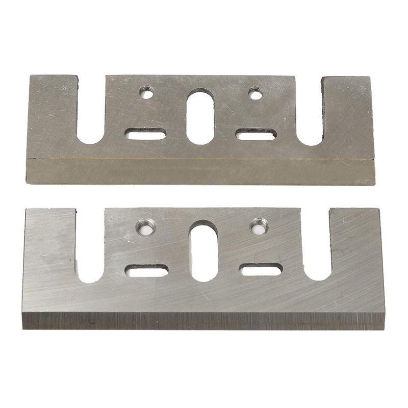 Hot 2x82MM HSS herramienta eléctrica RE-SHARPENABLE cuchillas cepilladoras para MAKITA N1900B uso