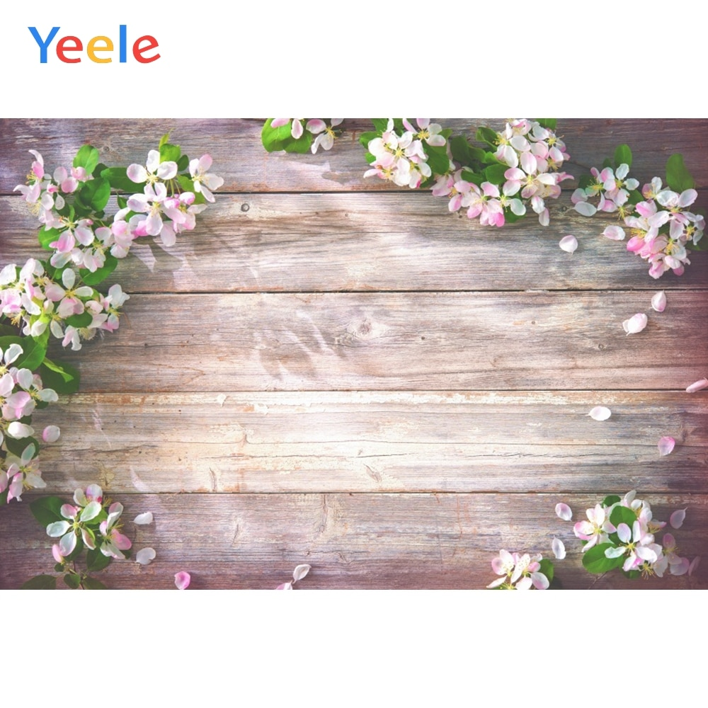 wedding background the blue sky and white clouds party photo backdrops tree flower chair background for photographic studio Yeele Wooden Board Planks Grunge Fresh Flower Portrait Photography Background Customized Photographic Backdrops for Photo Studio