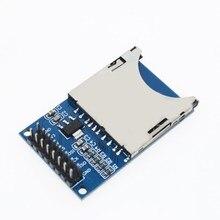 Livraison gratuite Module de lecture et décriture électronique intelligente Module de carte SD connecteur de prise de courant bras MCU pour arduino bricolage Kit de démarrage