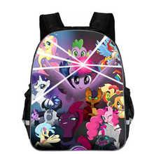 Hot Fashion Pony School Bags for Girls Children Schoolbags 3d Printed Cartoon Animals Book Pack Kids Backpacks Mochila Escolar