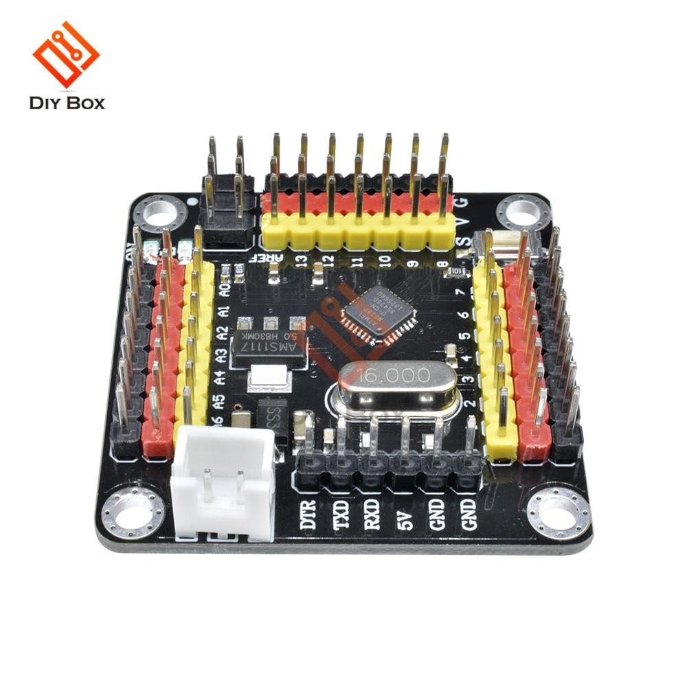 DM сильная серия Atmega328 модуль контроллера Pro Mini 5 в 16 МГц плата 5 В для Arduino Atmega328p микроконтроллер Diy Kit I/O контакты