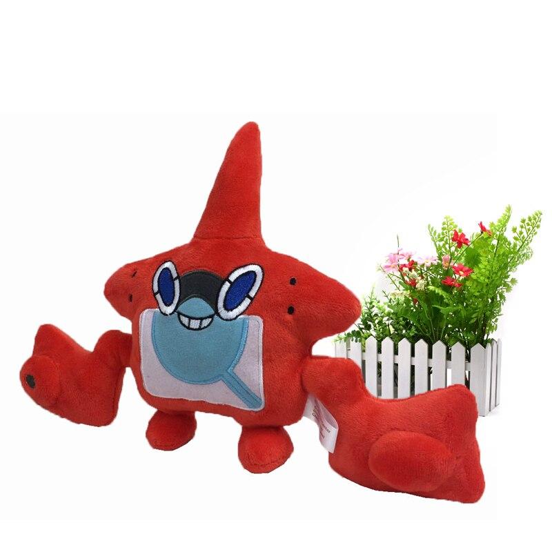 Muñecos de dibujos animados de 20 cm de animé Rotom Peluche, regalo de Navidad para niños